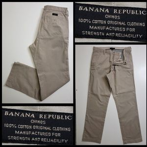 Banana Republic men's cotton pants size 34x34